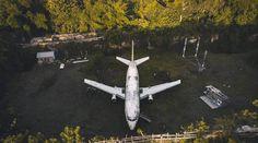 Abandoned Plane Bali