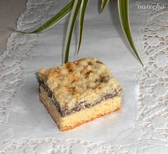 Tvarohový koláč s makom (fotorecept) - recept | Varecha.sk Banana Bread, Food And Drink, Pie, Cookies, Basket, Torte, Crack Crackers, Cake, Fruit Cakes