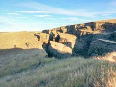 Locals stunned at what hunters discovered on private land in the foothills of the Bighorn Mountains of Wyoming. Part of it resembled a mini Grand Canyon.