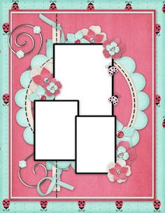 Frames from Tea and Cupcakes Clipart. Scrapbook Frames, Papel Scrapbook, Scrapbook Embellishments, Slogans On Health, Clipart, Scrapbooking Layouts, Digital Scrapbooking, Homemade Envelopes, Japanese Party