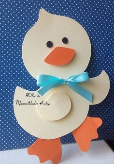 Easter bunny craft idea for kids Duck Crafts, Bee Crafts, Animal Crafts, Easter Crafts, Diy And Crafts, Crafts For Kids, Mouse Crafts, Daycare Crafts, Baby Cards