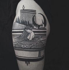 Thievesoftower-Tattoo-Ink-InkObserver-Geometric-Minimalism-Blackwork-Greensboro/Winston-Salem-USA 1