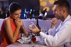 Photo about Young men proposing to beautiful woman, holding engagement ring, waiting for answer. Image of dress, elegant, female - 29136962 Marriage Advice, Beautiful Women, Stock Photos, Engagement, Image, Vectors, Relationships, Tips, Pictures