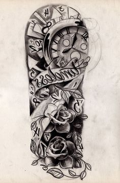 Sleeve tattoo designs photo galleries and best sleeve tattoos forearm sleeve tattoos Half Sleeve Tattoos Sketches, Half Sleeve Tattoos For Guys, Half Sleeve Tattoos Designs, Tattoo Sketches, Tattoo Designs Men, Tattoo Drawings, Art Designs, Girly Sleeve Tattoo, Forearm Sleeve Tattoos