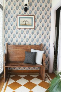 In New Delhi, a Calming Oasis for Two Journalists | Design*Sponge