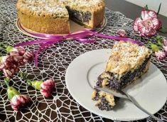 Ciasto makowe z budyniem - przepis ze Smaker.pl French Toast, Breakfast, Food, Morning Coffee, Essen, Meals, Yemek, Eten