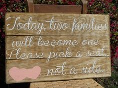 Hey, I found this really awesome Etsy listing at https://www.etsy.com/listing/206277602/rustic-wedding-sign-fall-wedding-seating