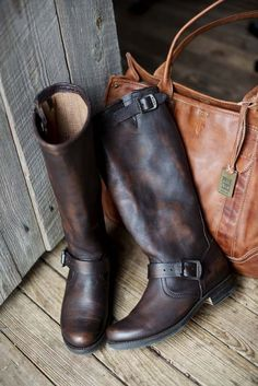 Knee high riding boots  http://www.countryoutfitter.com/products/32823-womens-vintage-veronica-slouch-boot-dark-brown #ridingboots