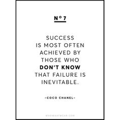 13 Rare Coco Chanel Quotes ❤ liked on Polyvore featuring phrase, quotes, saying and text