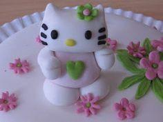 PASTELES DE ENSUEÑO: Tarta Hello Kitty. Como organizar una tarta de fondant.