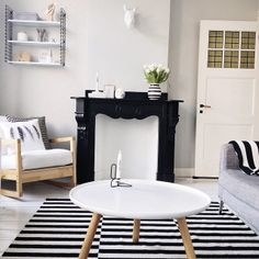 Inspiring Homes: That Nordic Feeling | Nordic Dass IKEA Schaukelstuhl