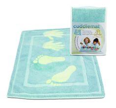 #Kinder-Badematte von Cuddledry 100% natürlicher Baumwolle Farbwechsel Badematte