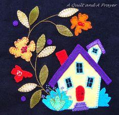 A Quilt and A Prayer: Crazy About Wool Blog Hop!