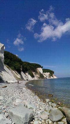 Steilküste bei Sassnitz #wirsindinsel! #rügen