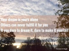 Thoughts By Param : dream