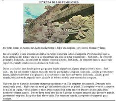 Leyenda de los Temblores en Mexico