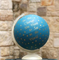 Tutorial: Anthropologie Globe Knockoff
