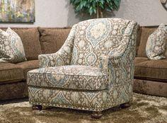Hemispheres: A World of Fine Furniture   Jackson-Renaissance Accent Chair