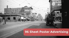 96 Sheet Poster Advertising