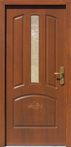 Drewniane wejściowe drzwi zewnętrzne do domu z katalogu modeli klasycznych wzór 552,5s+d1 Door Design Wood, Ceiling Design, Wooden Door Design, Front Porch Decorating, Wood Doors Interior, Door Design Interior, Wooden Room, Room Door Design, Ceiling Design Bedroom