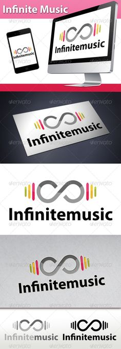 Infinite Music Beats Logo  #GraphicRiver         - Three color version: color, greyscale and single color.   - The logo is 100% resizable.   - You can change text and colors very easy using the named and organized layers that includes the file.   - The typography used is Myriad Pro a system default font.       Created: 24October12 GraphicsFilesIncluded: VectorEPS #AIIllustrator Layered: Yes MinimumAdobeCSVersion: CS Resolution: Resizable Tags: audioengineer #audiologo #audiotech #beats #chat #clevermusiclogo #discographylogo #djlogo #engineering #entertainment #headphones #infinitelogo #infinitylogo #media #modernmusiclogo #musiccomposer #musichost #musiclogo #musical #online #radio #record #recordlabellogo #recording #song #sound #soundwave #tech #technology #wave