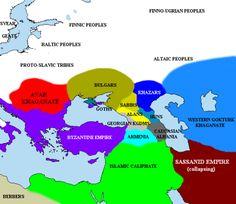 A szabirok a Kaukázusban