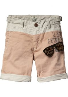New Arrival! Scotch Shrunk Worked Out Chino Shorts bij Eb & Vloed Lifestyle