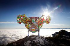 Winner of Most Beautiful Object in South Africa 2011: Dreams for Africa Chair by Woza Moya.