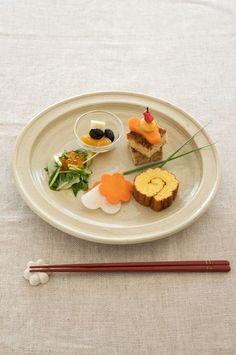 盛り方や飾り付けで、食べやすさに遊び心もプラスしたワンプレート。/和スタイルの楽しみ方(「はんど&はあと」2013年1月号)