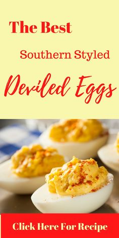 Easy Southern Style Deviled Eggs Food Dishes, Side Dishes, My Favorite Food, Favorite Recipes, Deviled Eggs Recipe, Easy Family Meals, Food Cravings, Southern Style, Food Truck
