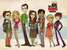Sweet The Big Bang Theory cartoon - from Diviant Art (addy in top left)!