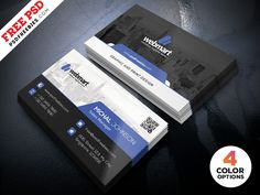 Download Free Business Card Design PSD Set. This Business Card Design PSD Set is simple but creative which can be used for your company, freelancers, photographer and all type of Industry. Business Card Design is available in 4 color options. Download contains is 300 dpi print-ready CMYK 8 PSD files ( Fronts and Back