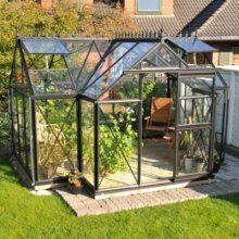 Exaco Greenhouse. 12.5 ft. x.7.5 ft. Junior Orangerie Greenhouse Kit