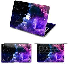 Deep Galaxy Macbook Keyboard Decals by Demon Decal Fits 11 inch Air
