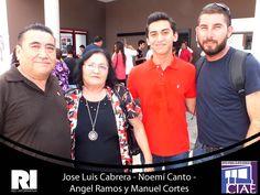 Jose Luis Cabrera - Noemí Canto - Angel Ramos y Manuel Cortes