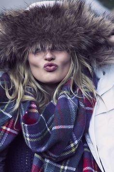 Pucker up! | A&F Coat Collection