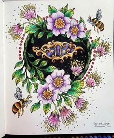 ⛦2016. 9. 19. . SUMMER NIGHTS [ No.03 ] ➡The finished painting☺ ➡컬러링 도구는 태그를 참고하세요. ➡ Colored pencil, see the tag. . . Background pass~!!  I like simple.. 전혀 보이지 않는 빤짝이..ㅋㅋ 빤짝이펜 썼다규~!!  . . #SOMMARNATT #SUMMERNIGHTS #HannaKarlzon  #컬러링북 #ColoringBook #ColoringArt #coluring #adultcoloringbook #mycreativeescape #jardimsecreto #프리즈마 #PRISMA #ColorPencil  #파버카스텔폴리크로모스  #Fabercastell  #Polychromos #ColorPencil #책스타그램 #취미#일상 #힐링