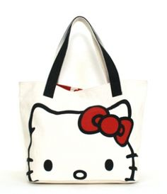 - HELLO KITTY CANVAS FACE TOTE LOUNGEFLY OFFICIAL WEBSITE  $65.00