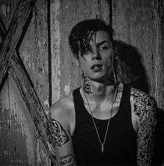 Andy Biersack<3 He is my biggest inspiration! He has taught me so much! Love you lots Andy! <3 - Laura