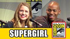 Supergirl Comic Con Panel - Melissa Benoist, Mehcad Brooks, Chyler Leigh...
