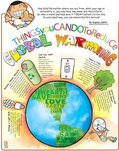 Global warming or climate change is the rising of the earth's average temperature day by day caused by the presence of different gases along with carbon dioxide at high levels in the earth's atmosphere. Global Warming Drawing, Global Warming Project, Global Warming Poster, Global Warming Climate Change, Effects Of Global Warming, Greenhouse Effect, Greenhouse Gases, Science Projects, School Projects