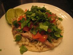 Two Ingredient Pulled Pork Tacos