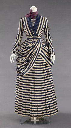 Tennis dress ca. 1885-1888 via The Costume Institute of the Metropolitan Museum of Art