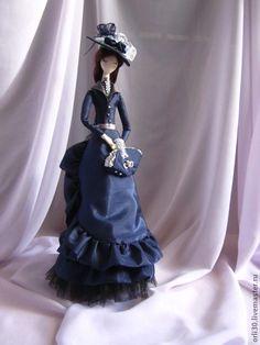 Кукла-тряпиенс.Луиза2 - тряпиенс,авторская кукла,колекционная кукла,интерьерная кукла