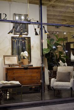 Window display at #Houston #Mecox #interiordesign #MecoxGardens #furniture #shopping #home #decor #design #room #designidea #vintage #antiques #garden