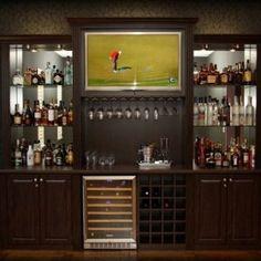 Image result for liquor shelves behind bar