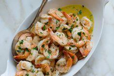 Sheet-Pan Garlic Butter Shrimp Buttered Shrimp Recipe, Garlic Butter Shrimp, Shrimp Recipes, Fish Recipes, Chicken Recipes, Baked Chicken, Air Fryer Dinner Recipes, Fancy Dinner Recipes, Romantic Dinner Recipes