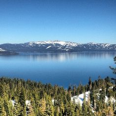 Amazing view from Homewood Ski Resort, on the west shore of Lake Tahoe