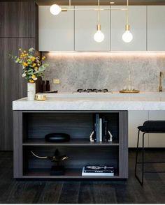 Modern Home Decor Kitchen Kitchen Dinning, Home Decor Kitchen, Kitchen And Bath, Home Kitchens, Kitchen Modern, Kitchen Industrial, Industrial Bedroom, Industrial Interiors, Industrial Lighting