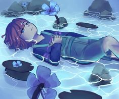 Frisk. I still stand by the fact that waterfall pictures are always super pretty!